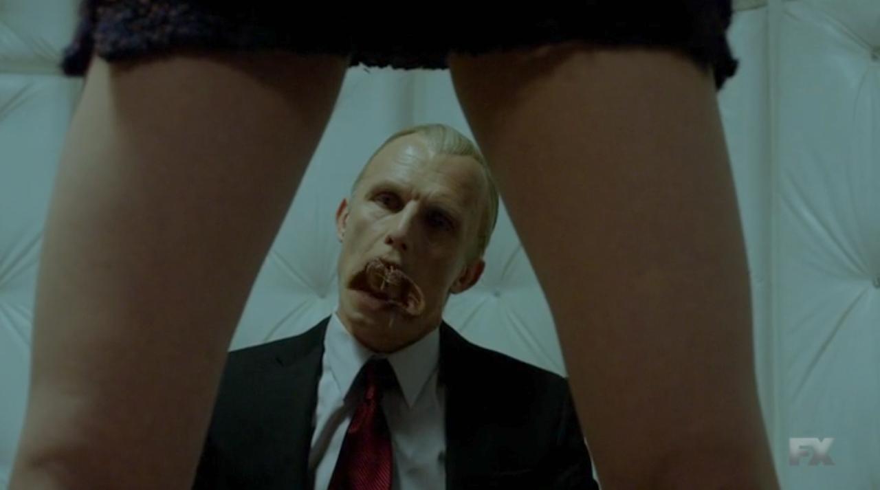 The Strain: l'attore Richard Sammel in una scena della puntata Dead End