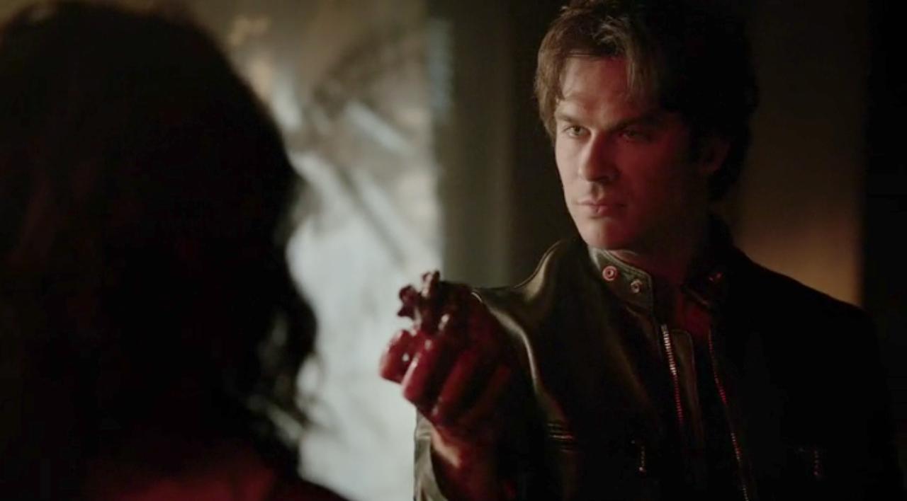 The Vampire Diaries: Ian Somerhalder è Damon nella puntata 22.190 Days