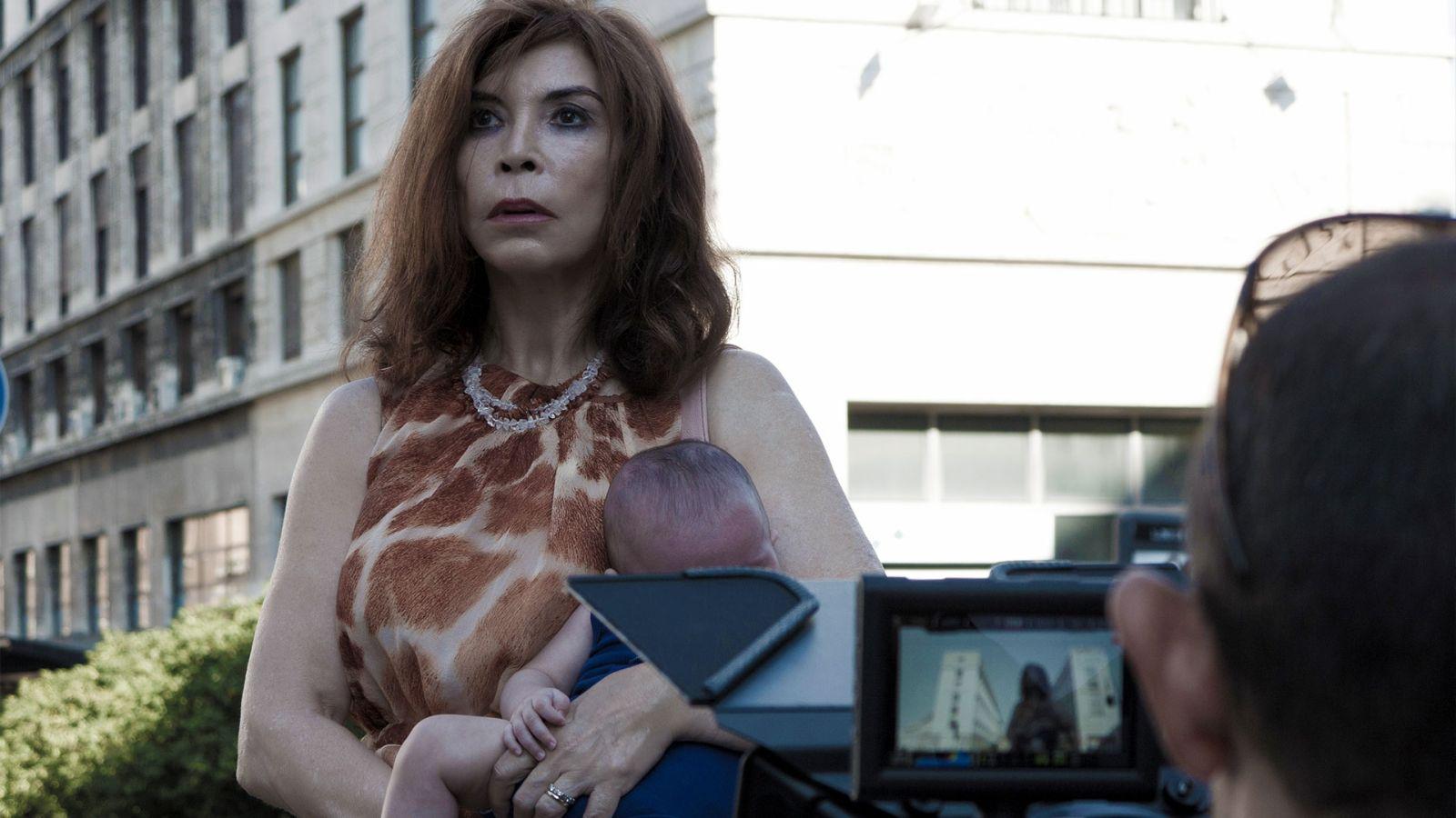 Leone nel basilico: Ida di Benedetto in scena sul set del film