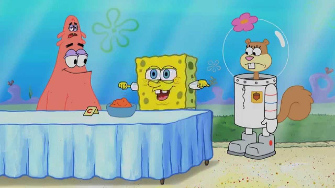 Una scena tratta da SpongeBob Live Party