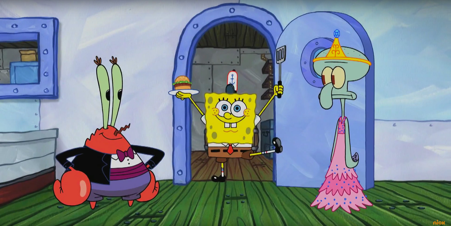 Un'immagine di SpongeBob Live Party