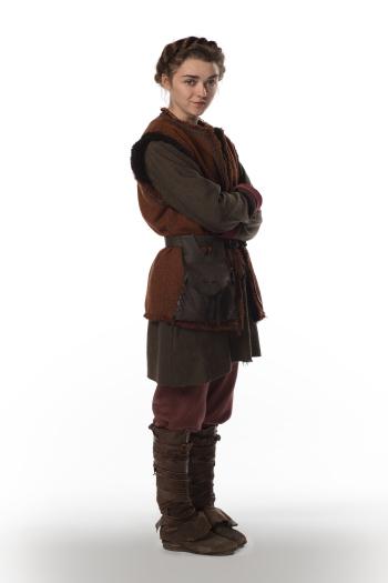 Doctor Who: Maisie Williams in una foto promozionale dell'episodio The Girl Who Died