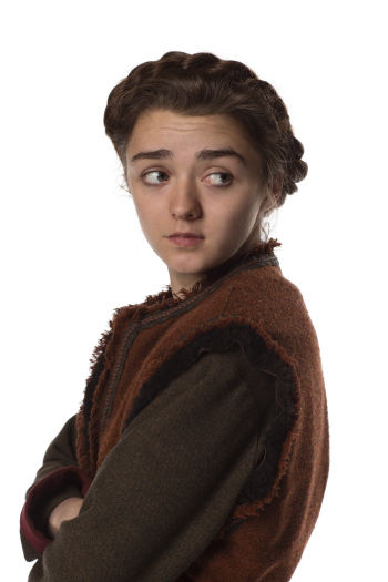 Doctor Who: Maisie Williams in un'immagine promozionale dell'episodio The Girl Who Died