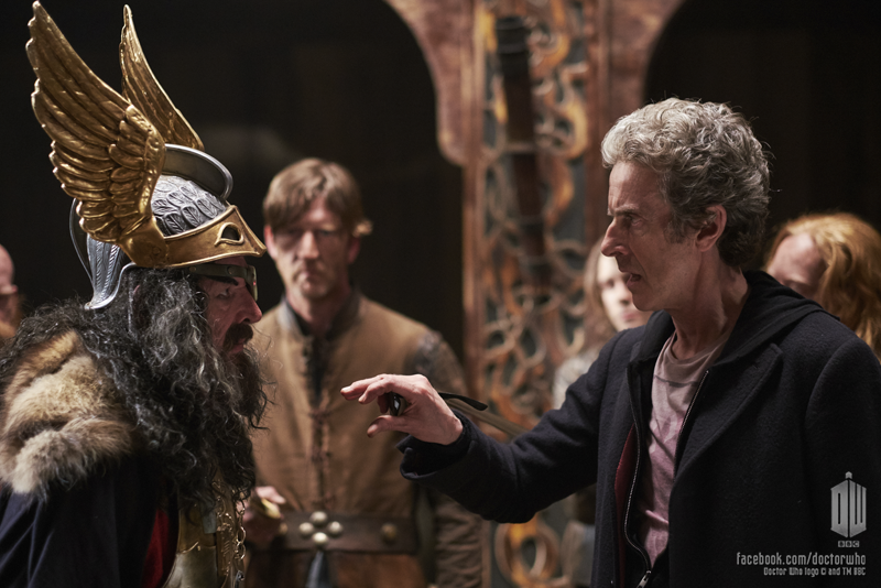 Doctor Who: Peter Capaldi in un'immagine dell'episodio The Girl Who Died