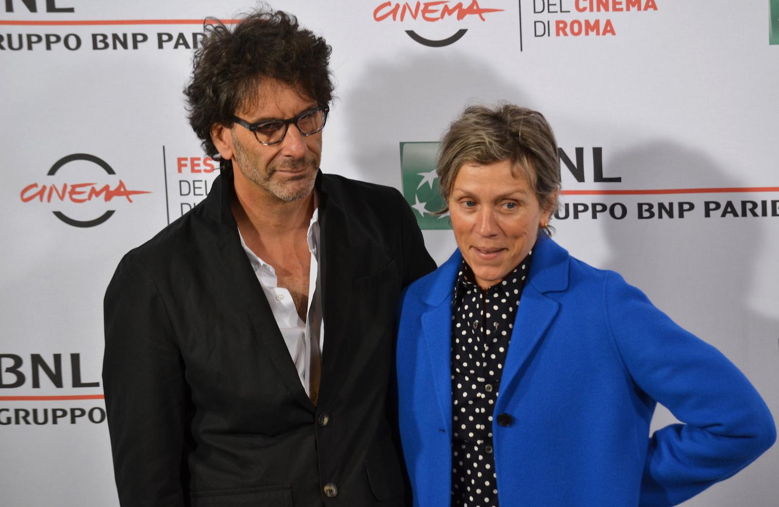Roma 2015: Joel Coen e Frances McDormand al photocall