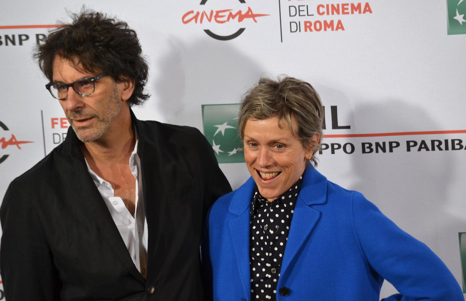Roma 2015: Frances McDormand e Joel Coen al photocall