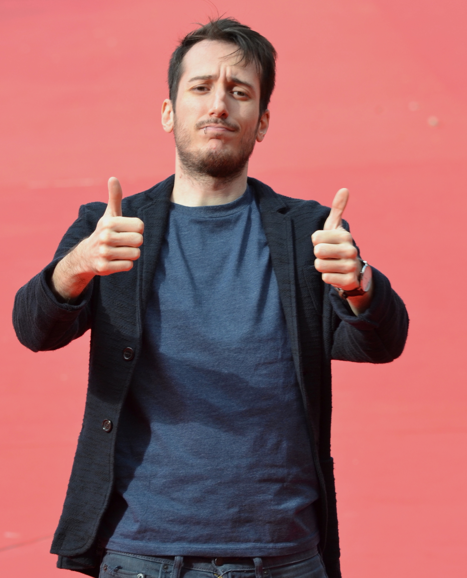 Roma 2015: Luca Denaro sul red carpet di Inside Out