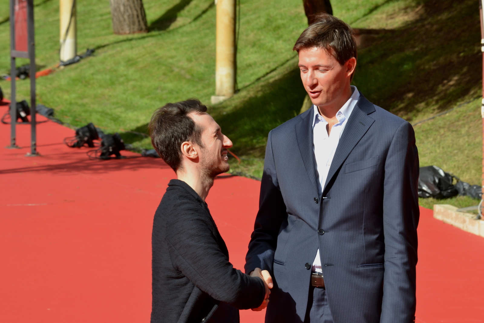 Roma 2015: Stefano Bethlen e Luca denaro sul red carpet di Inside Out