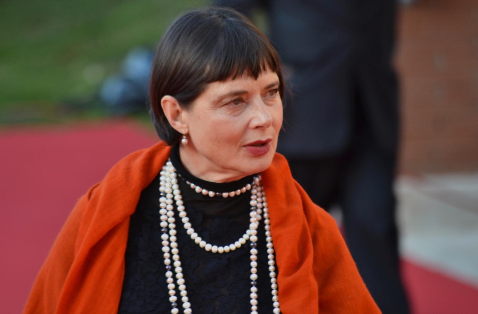 Roma 2015: Isabella Rossellini in uno scatto sul red carpet