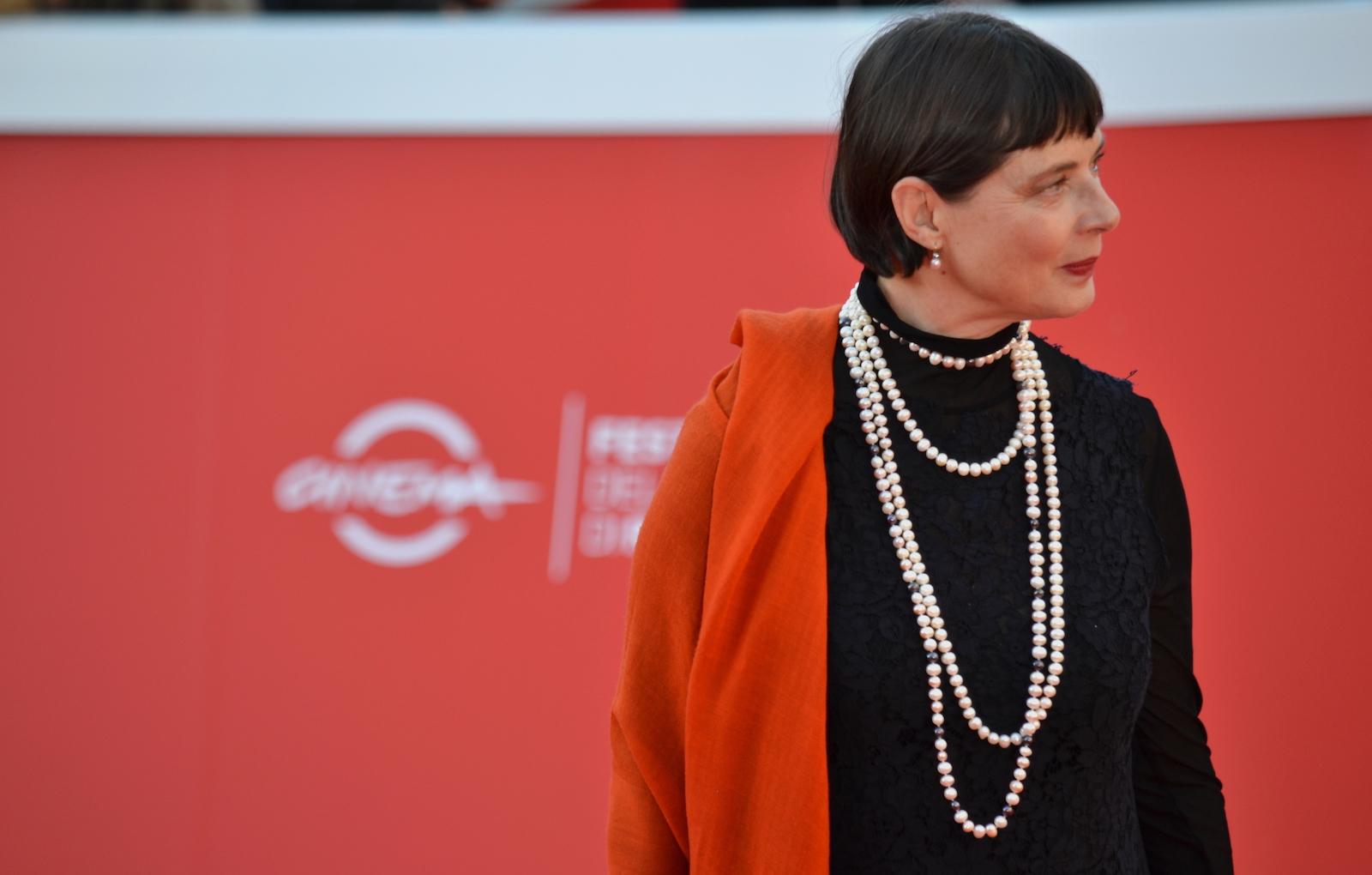 Roma 2015: Isabella Rossellini sul red carpet a lei dedicato