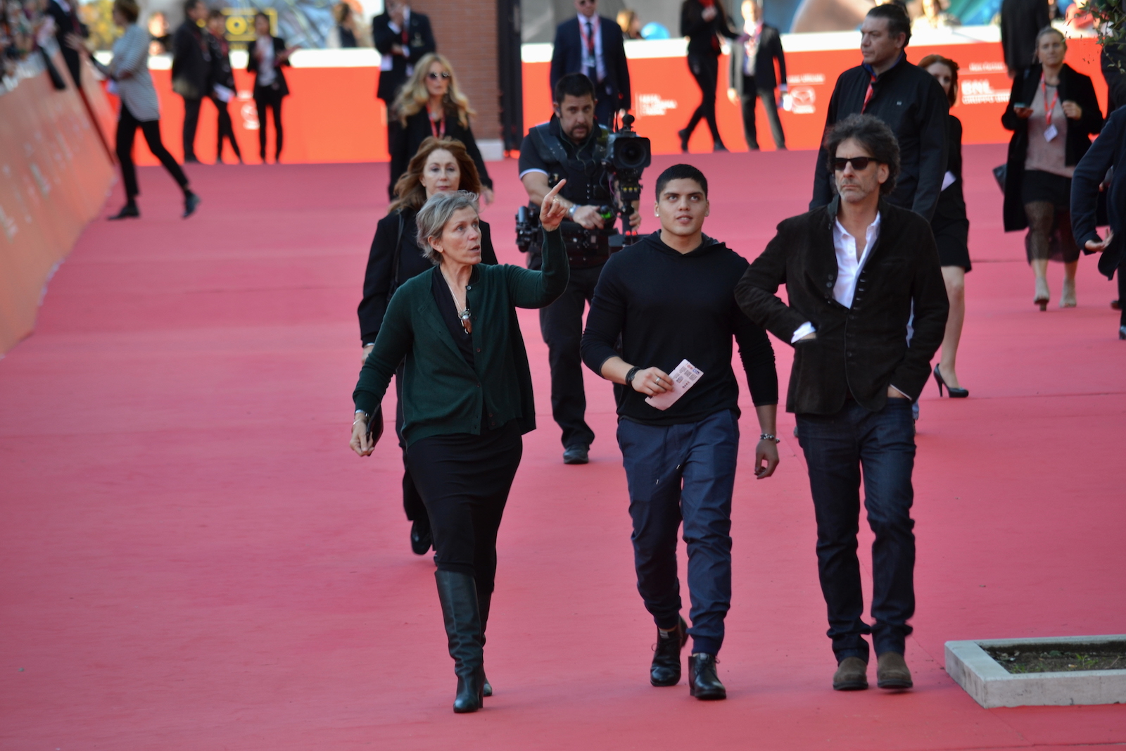 Roma 2015: Frences McDornand e Joel Coen in arrivo sul red carpet