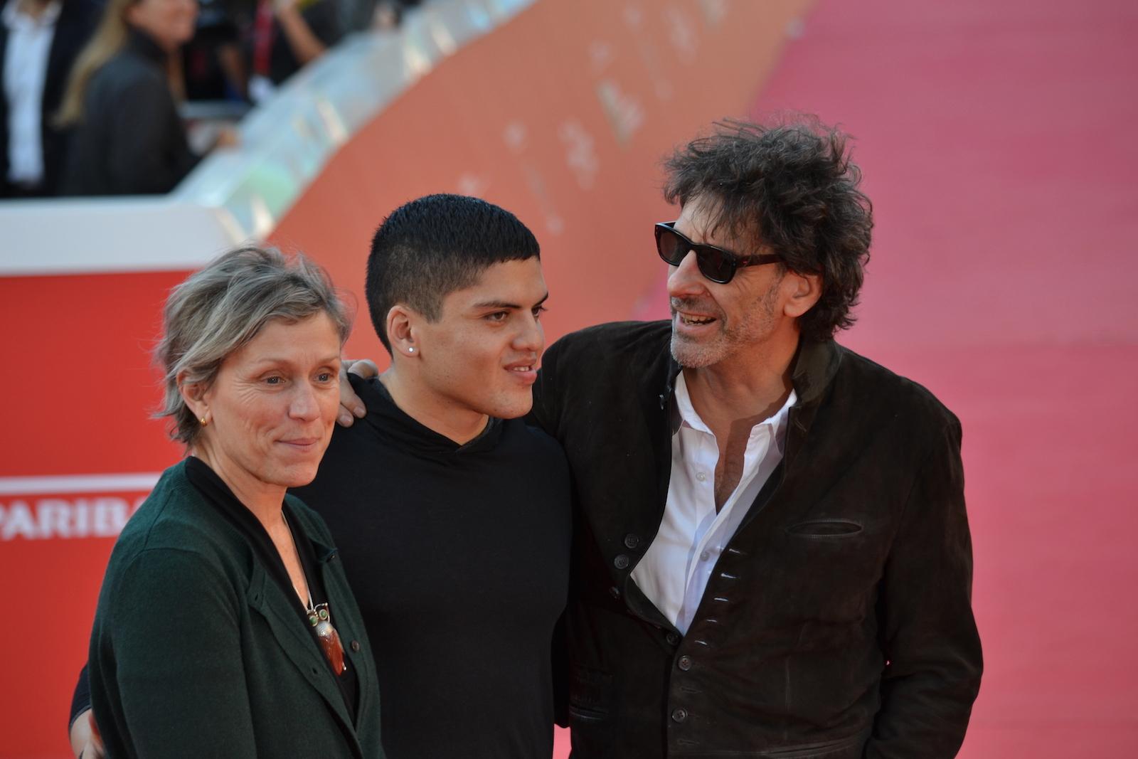 Roma 2015: Joel Coen e Frances McDormand in uno scatto sul red carpet
