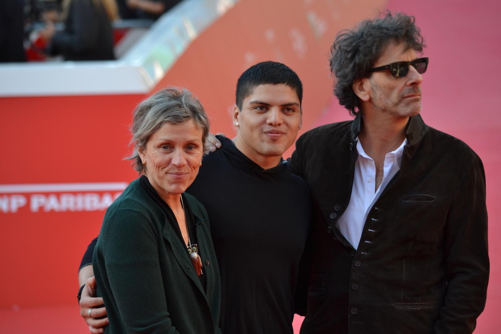 Roma 2015: Frances McDormand e Joel Coen in una foto sul red carpet