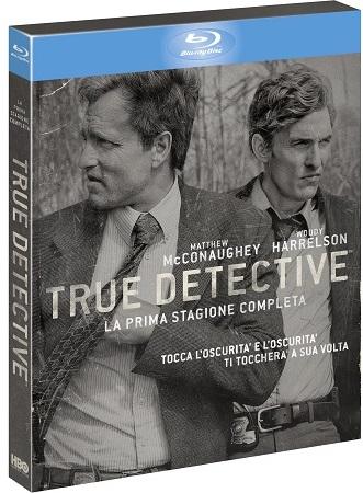 La cover blu-ray di True Detective