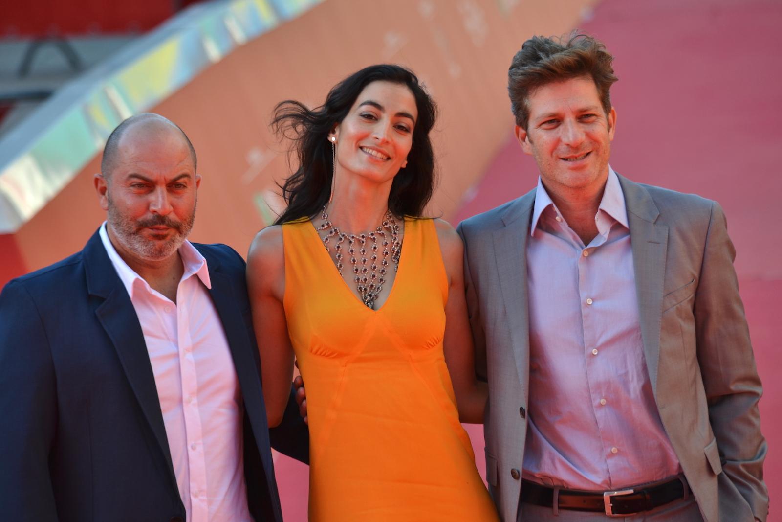 Roma 2015: Assaf Bernstein, Laëtitia Eïdo e Lior Raz sul red carpet di Fauda