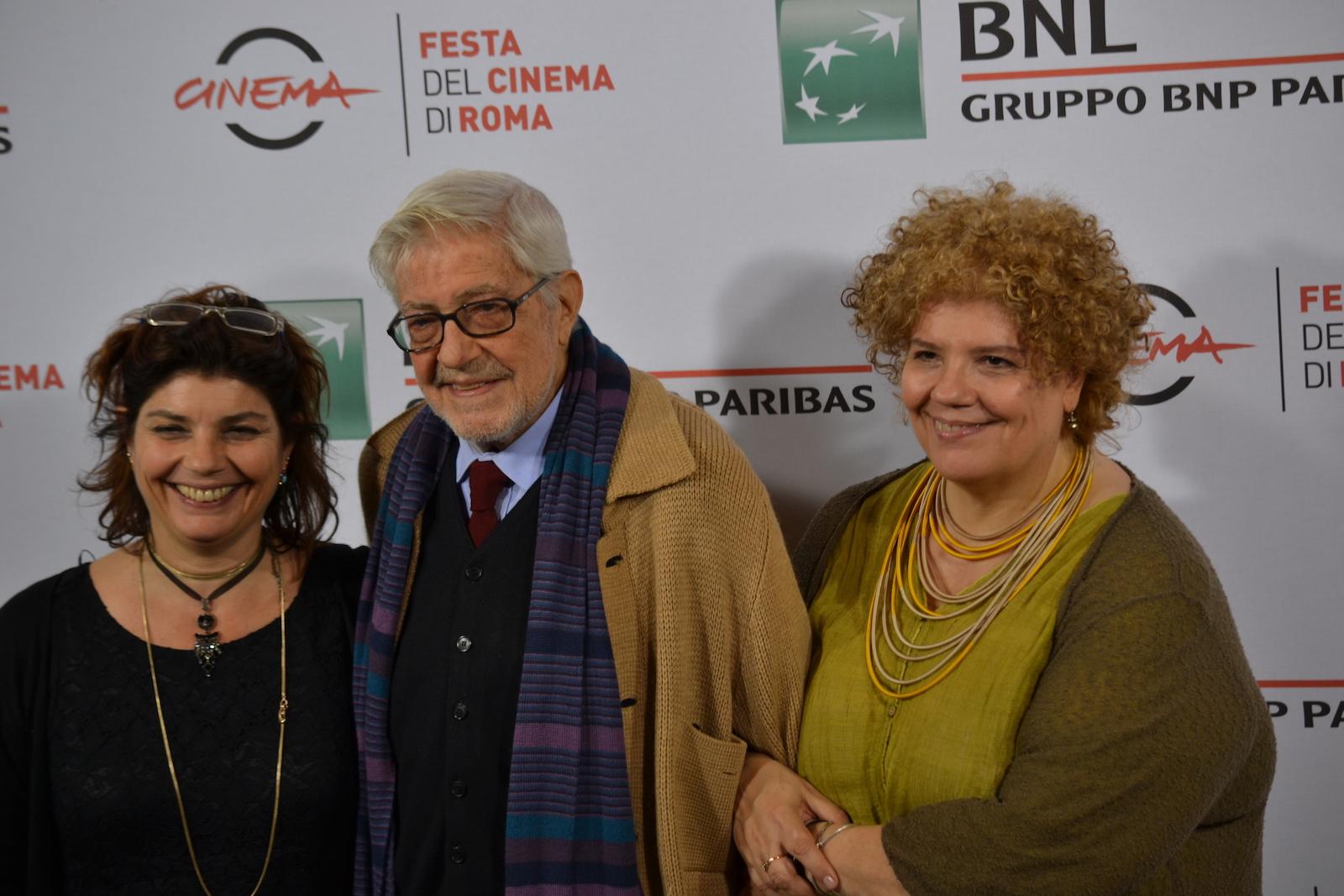 Roma 2015: Ettore, Silvia e Paola Scola al photocall di Ridendo e Scherzando