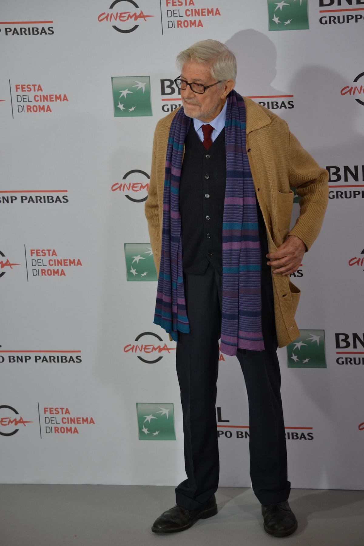 Roma 2015: Ettore Scola al photocall di Ridendo e Scherzando