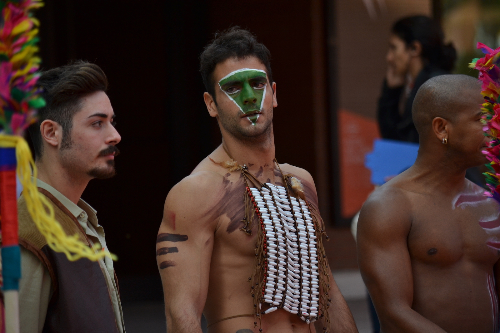 Roma 2015: un immagine del red carpet di Pan - Viaggio sull'isola che non c'è