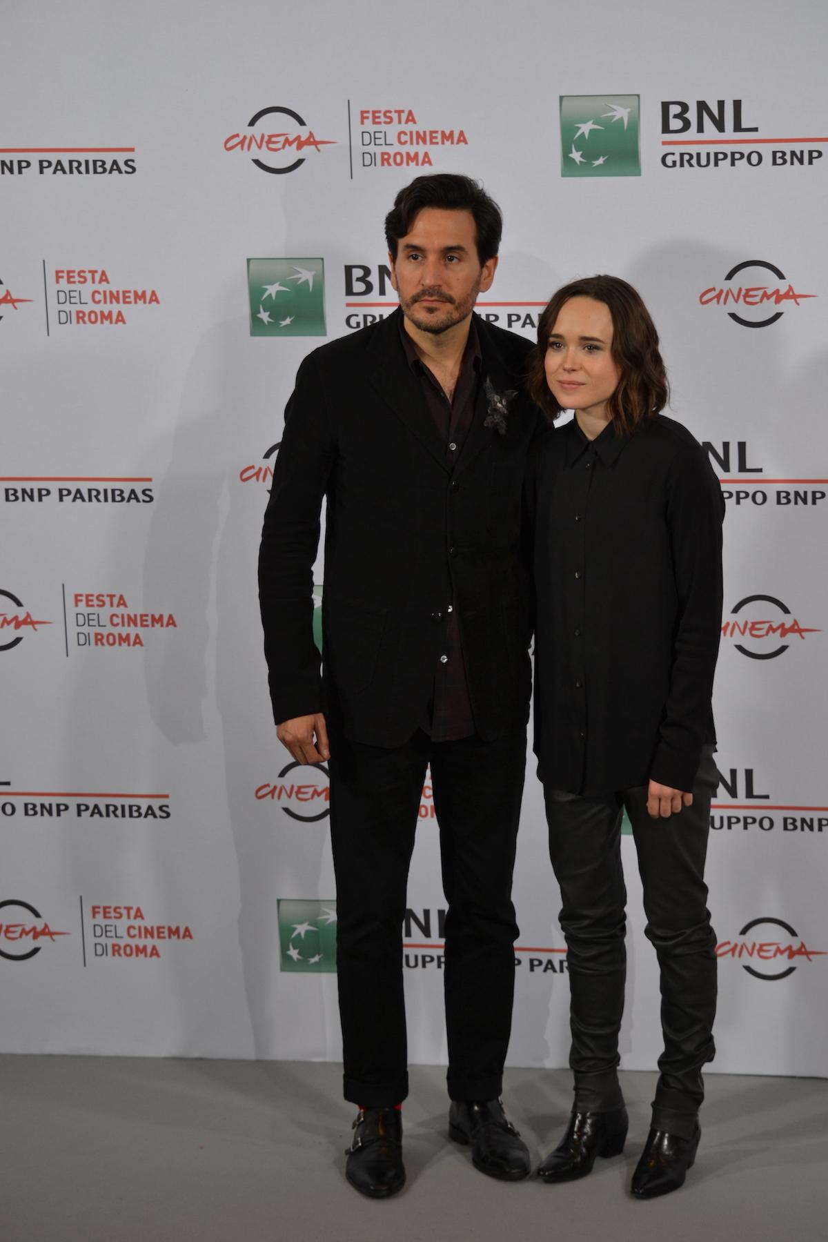 Roma 2015: Peter Sollet e Ellen Page al photocall di Freeheld