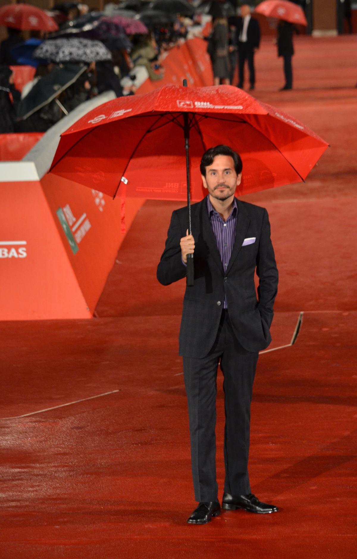 Roma 2015: Peter Sollett in uno scatto durante il red carpet di Freeheld