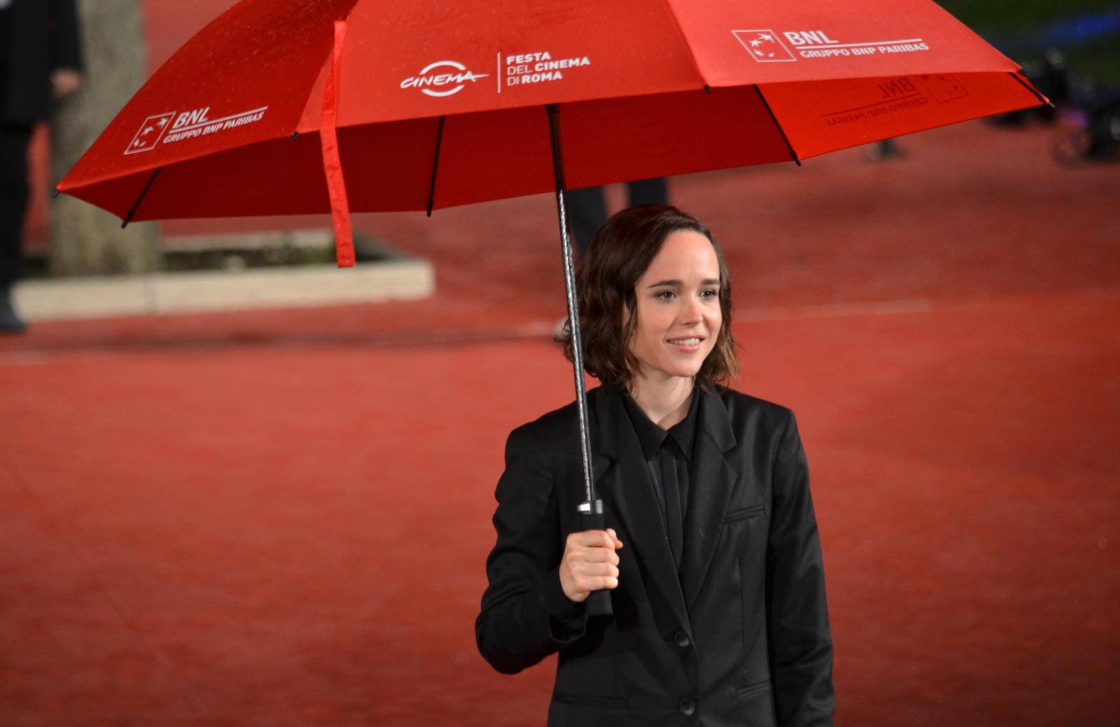 Roma 2015: Ellen Page in uno scatto sul red carpet di Freeheld