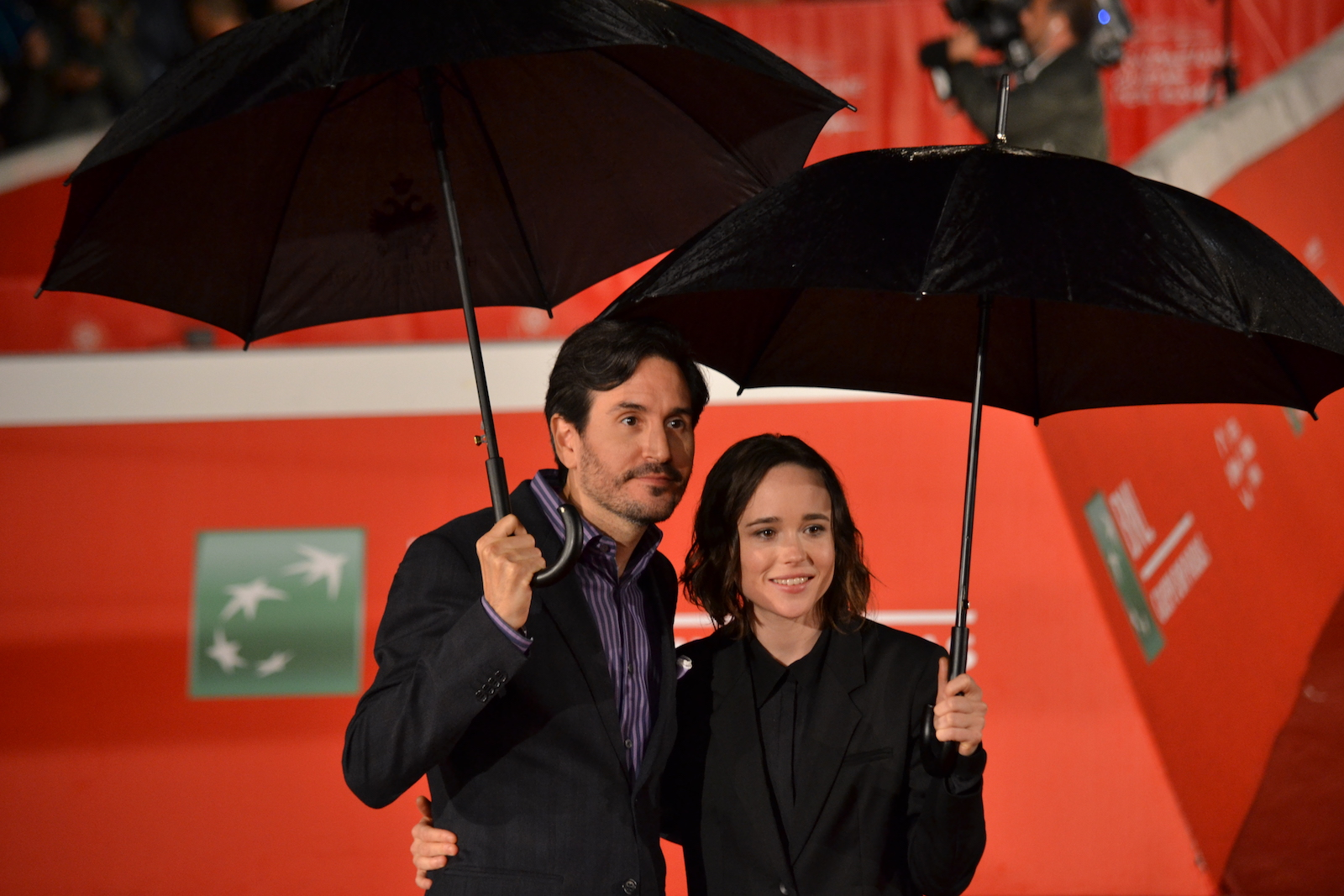 Roma 2015: Ellen Page e Peter Sollett sul red carpet di Freeheld
