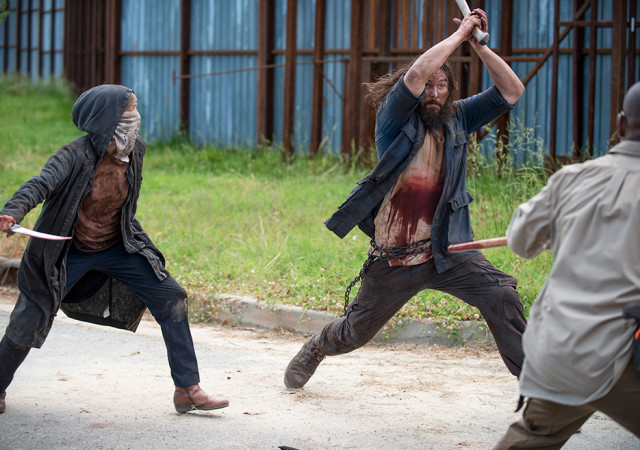 The Walking Dead: una sequenza dell'episodio JSS