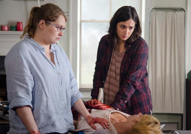 The Walking Dead: Alanna Masterson nell'episodio JSS