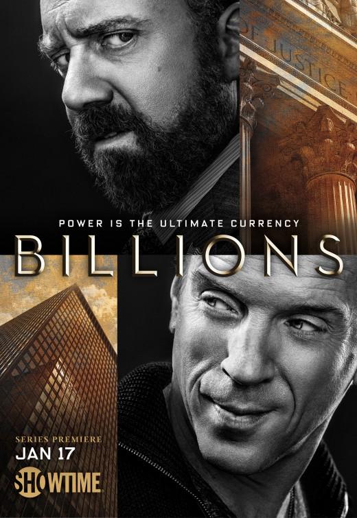 Billions: la locandina della serie