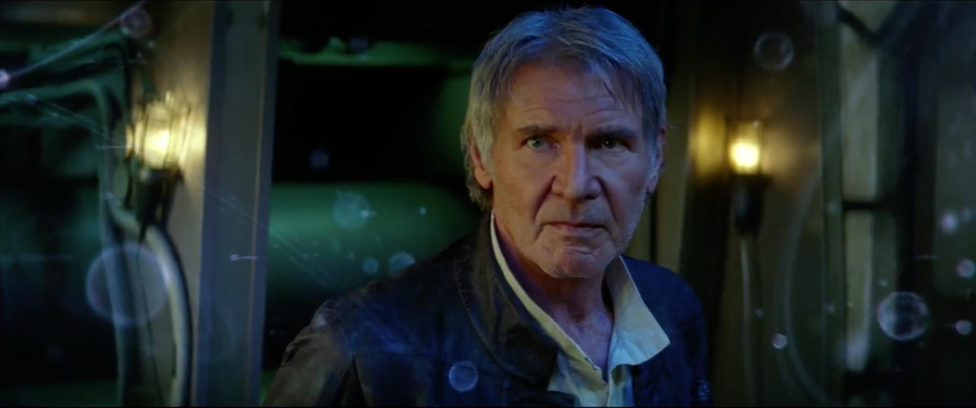 Star Wars: Episodio VII - Il risveglio della Forza: Harrison Ford nel trailer finale del film