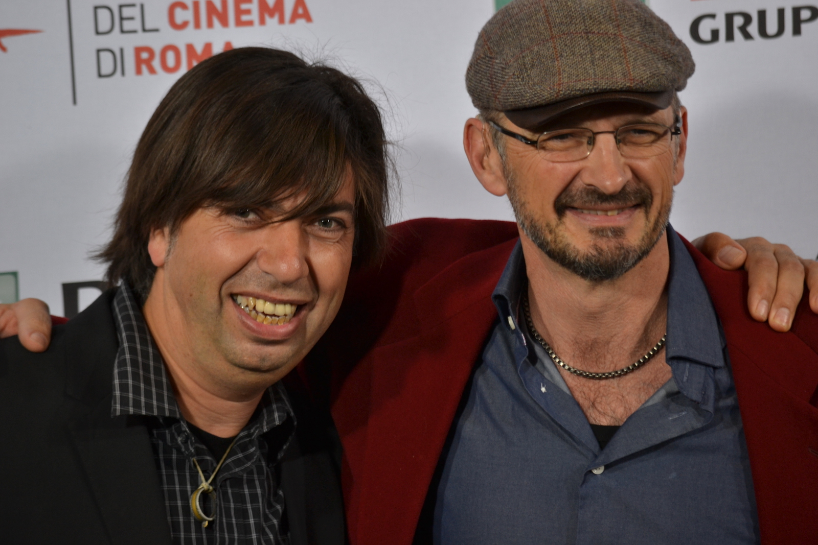 Roma 2015: Cyril Barbançon e Andy Byatt al photocall di Hurricane