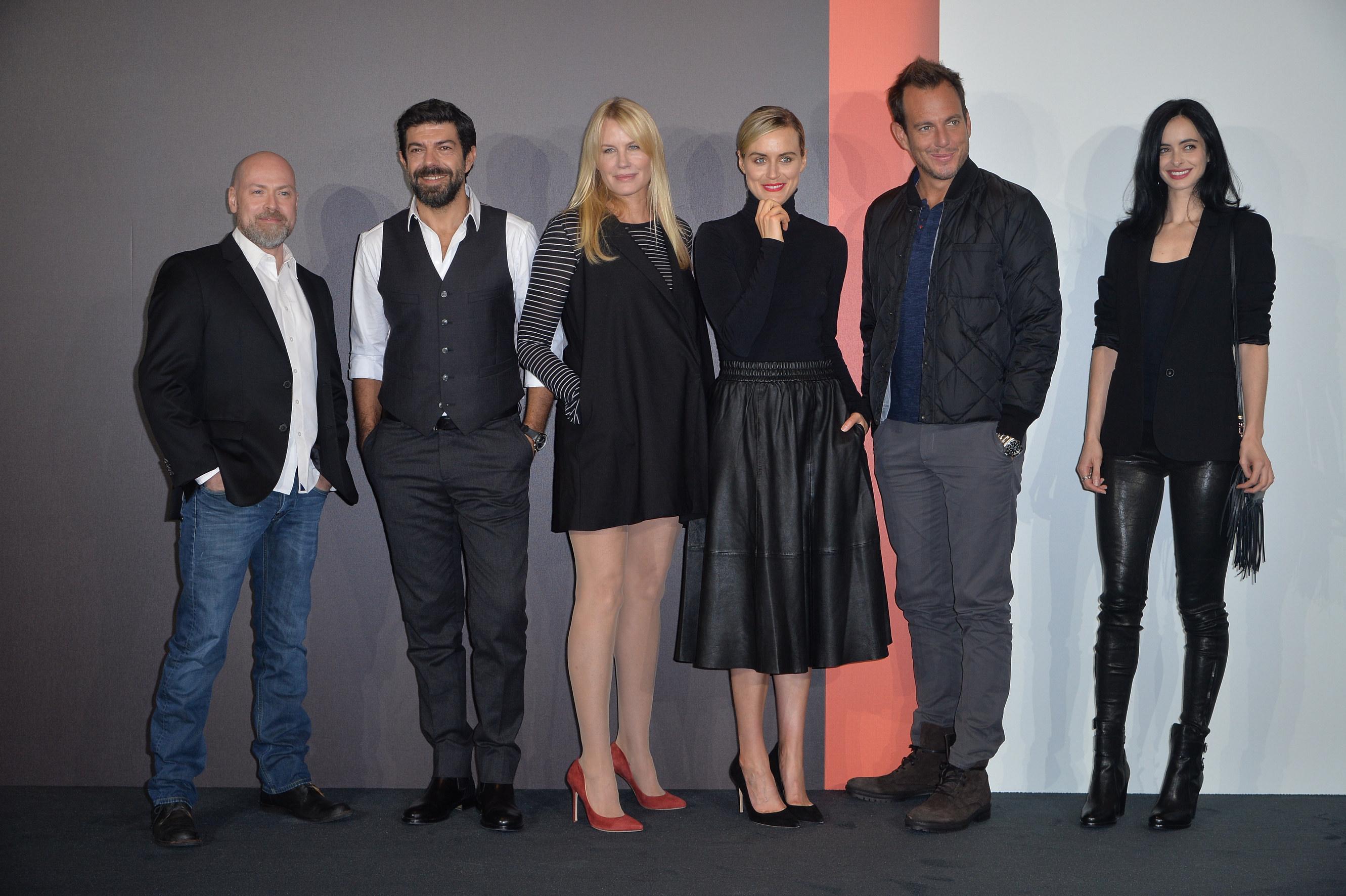 Presentazione di Netflix Italia, personalità del cinema e della tv