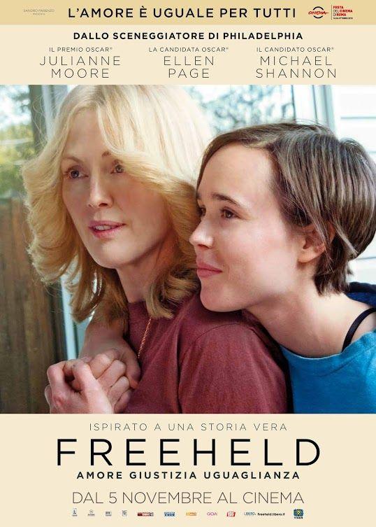 Locandina italiana di Freeheld - Amore, giustizia, uguaglianza