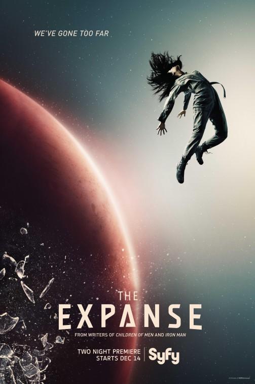 Expanse: la locandina della serie