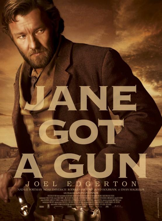 Jane Got a Gun: il character poster di Joel Edgerton