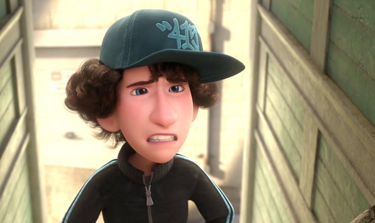 Riley's First Date: il piccolo Jordan in una scena del corto Pixar