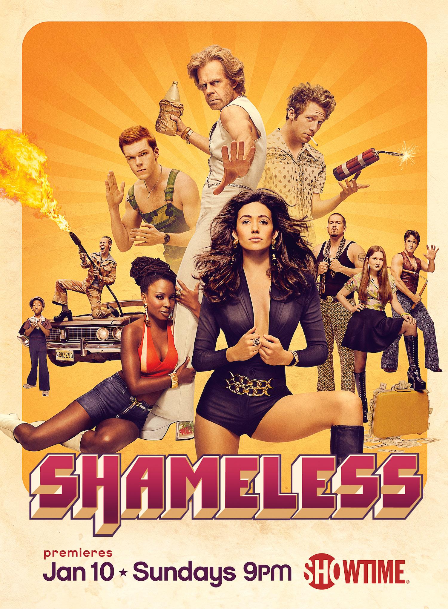 Shameless: il poster della stagione 6