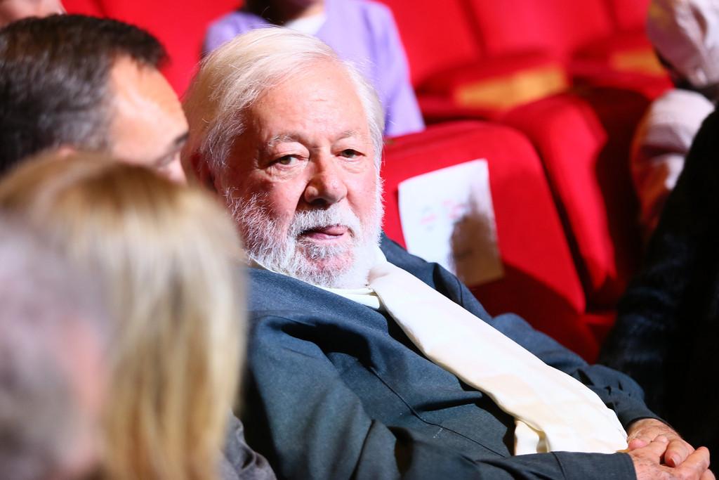 Paolo Villaggio alla Festa del Cinema di Roma 2015