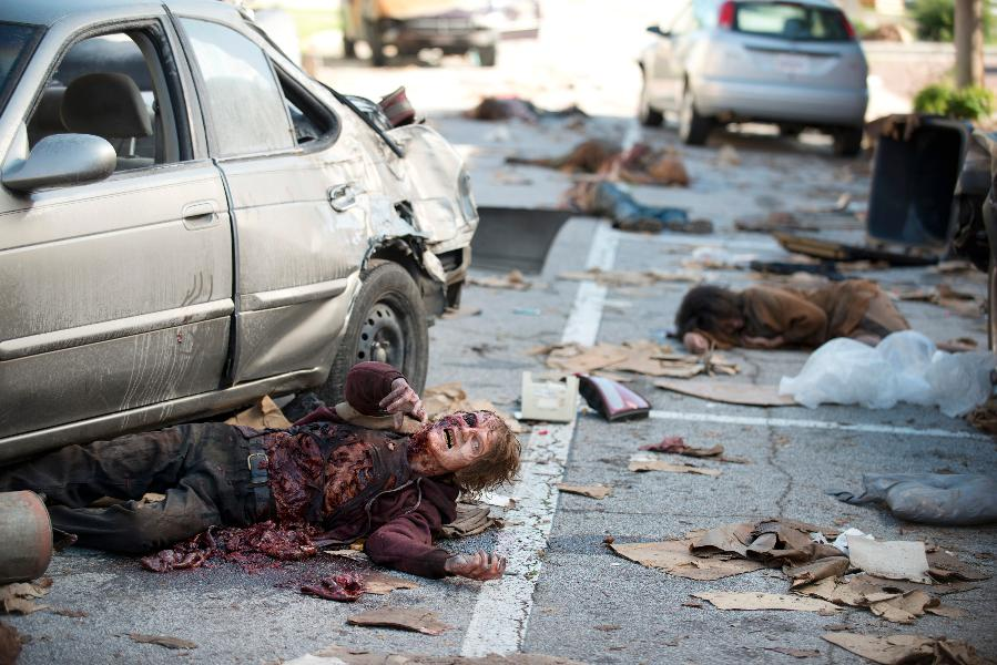 The Walking Dead: un walker dell'episodio Thank You