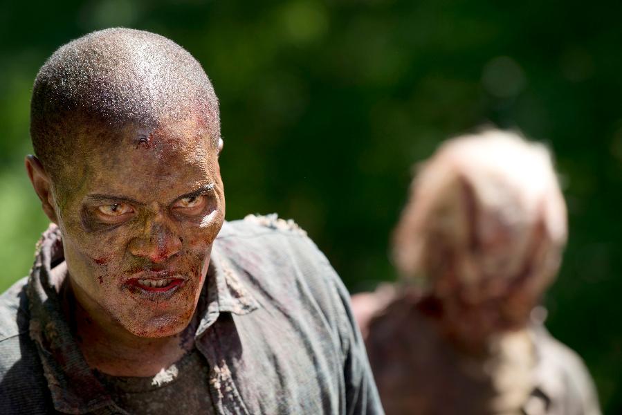 The Walking Dead: dei walker della puntata Thank You