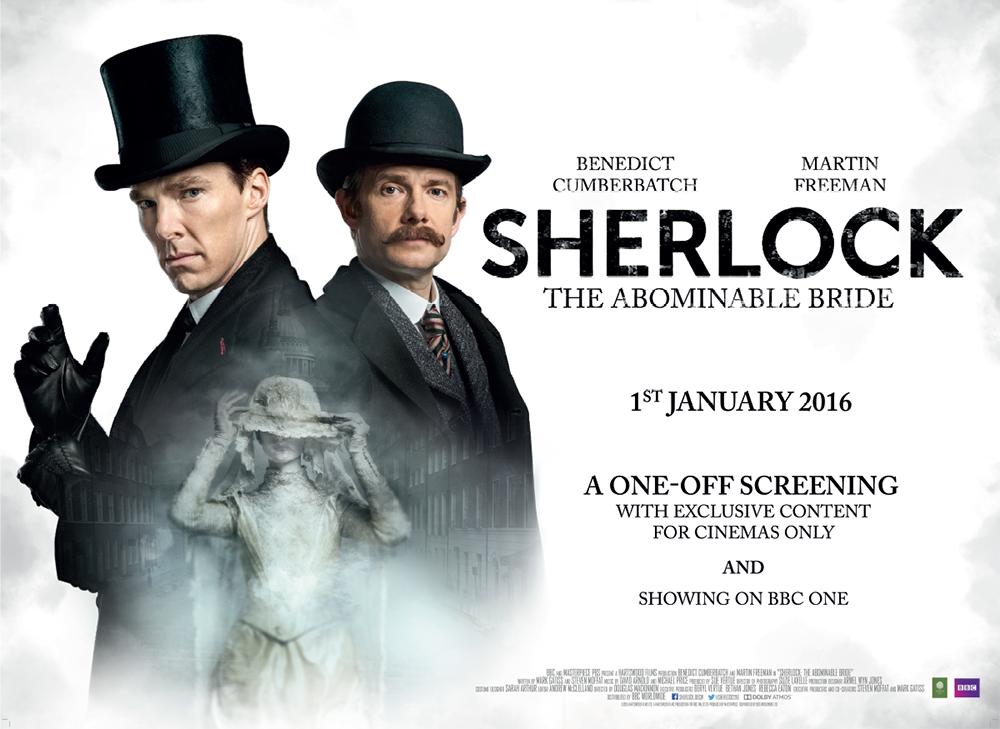Sherlock: il quad poster dello speciale natalizio Sherlock: The Abominable Bride