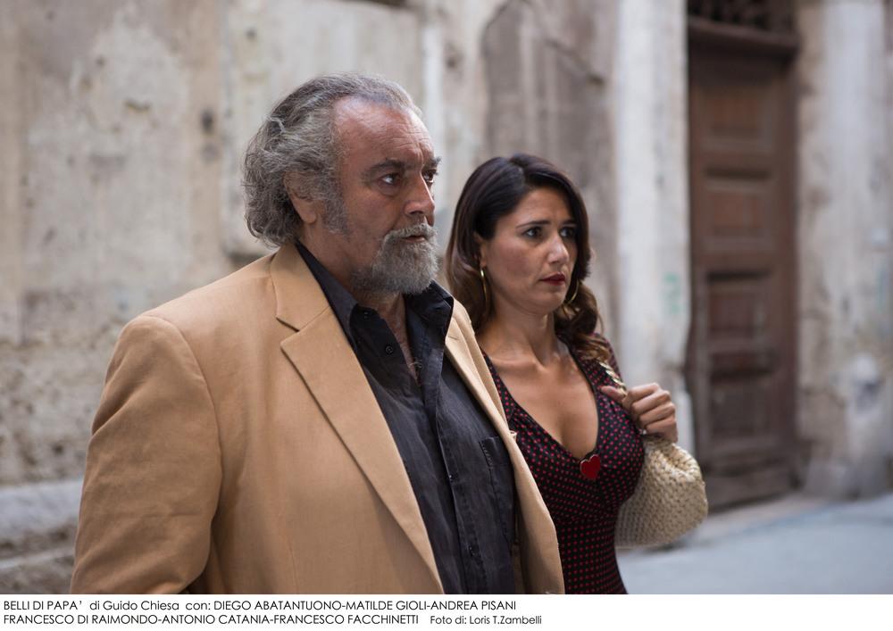 Belli di papà: Diego Abatantuono in una scena del film