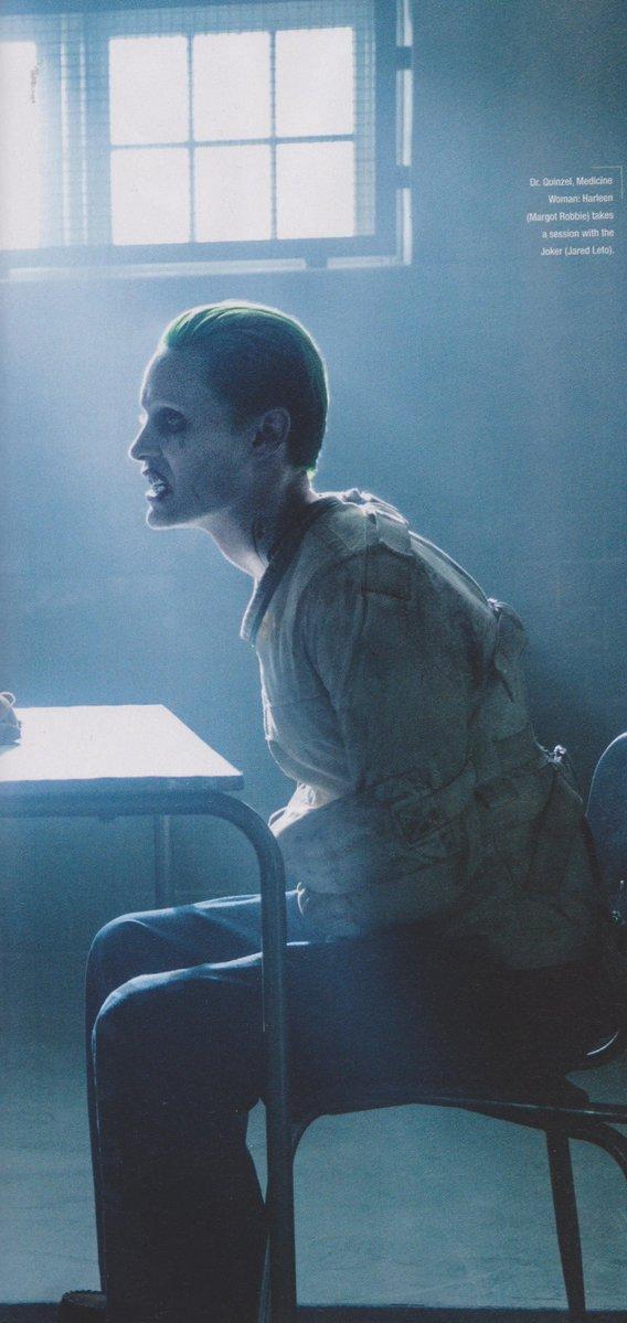 Suicide Squad: Jared Leto in un'immagine del film