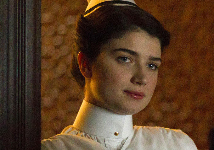 The Knick: l'attrice Eve Hewson in una foto di Ten Knots