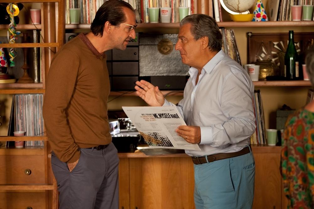 Tutti pazzi in casa mia: Christian Clavier e Stéphane De Groodt in una scena del film
