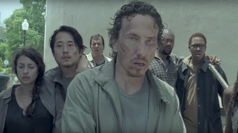 The Walking Dead: una foto tratta dall'episodio Thank You