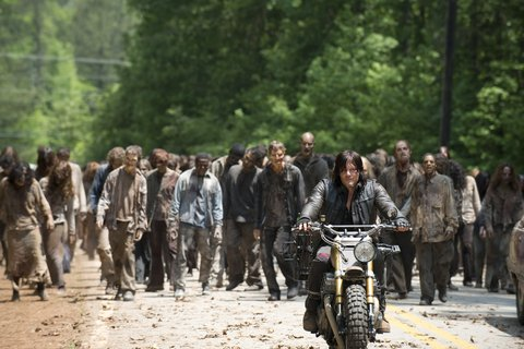 The Walking Dead: l'attore Norman Reedus nell'episodio Thank You