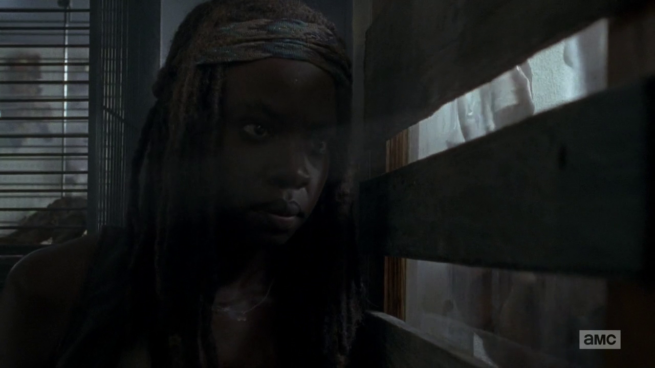 The Walking Dead: Danai Gurira interpreta Michonne nell'episodio Thank You