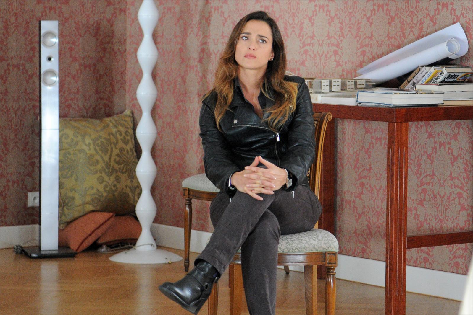 I misteri di Laura: Eleonora Sergio nella fiction