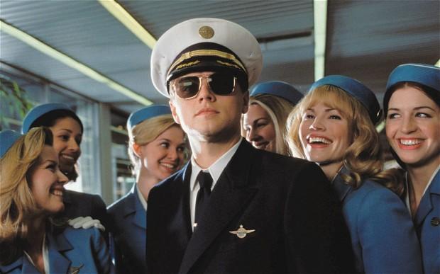 Leonardo DiCaprio in Prova a prendermi